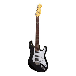 Tokai 'Vintage Series' AST-165 SEB ST-Style Electric Guitar (See Through Black/Golden Wood)-AST-165SH-SEB-MAKIE