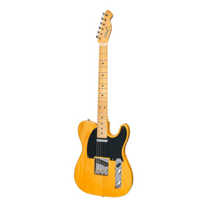 Tokai 'Vintage Series' ATE-118 TE-Style Electric Guitar (Vintage Natural/Maple Fretboard)-ATE-118-VNT/M