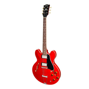 Tokai 'Vintage Series' ES-148S ES-Style Electric Guitar (See Through Red)-ES-148S-SR