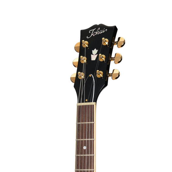 Tokai 'Vintage Series' ES-187G ES-Style Electric Guitar (Black)-ES-187G-BB