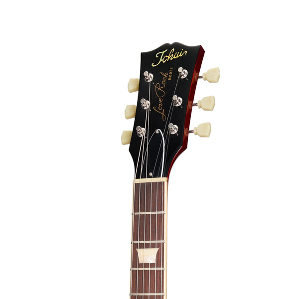 Tokai 'Vintage Series' LS-140F AAA Flame Top LP-Style Electric Guitar (Cherry Sunburst)-LS-140F-CS