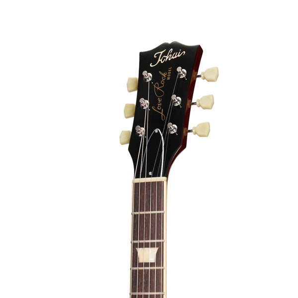 Tokai 'Vintage Series' LS-140F AAA Flame Top LP-Style Electric Guitar (Violin Finish)-LS-140F-VF