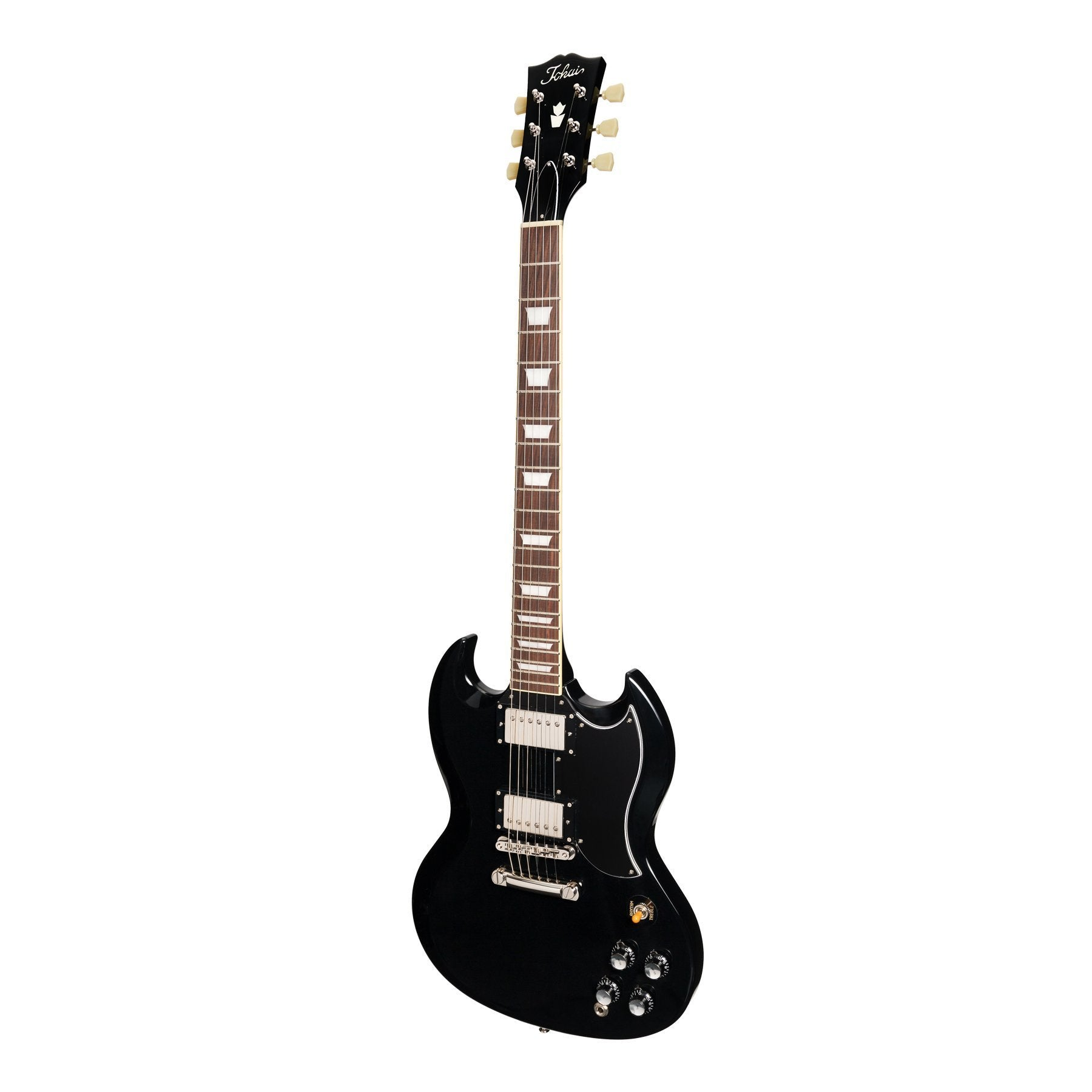 Tokai 'Vintage Series' SG-124 SG-Style Electric Guitar (Black)-SG-124-BB