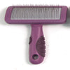 Soft Protection Salon Slicker Brush Small for Dogs Cats or Rabbits