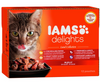 IAMS Delights Cat Wet Land in Gravy 12x85g