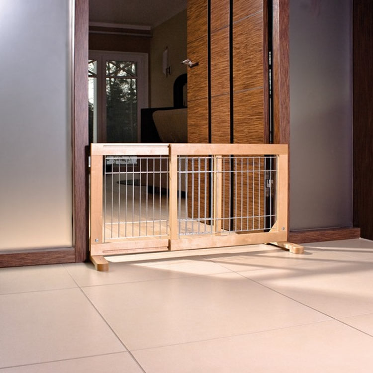 Pet Barrier Door Birch For Puppys Small Dog Or House Rabbits