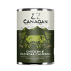 Canagan Dog Can Chicken & Wild Boar Casserole 400g
