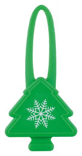 Christmas Tree Flashers For Dogs 7cm