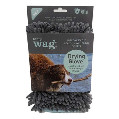 Henry Wag Hw Microfibre Cleaning Glove Grey/Teal