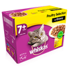Whiskas Pouch 7+ Poultry Selection In Gravy 12 X 100g