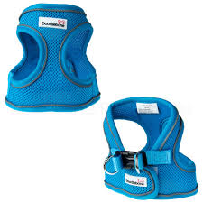 Doodlebone Airmesh Snappy Harness Cyan