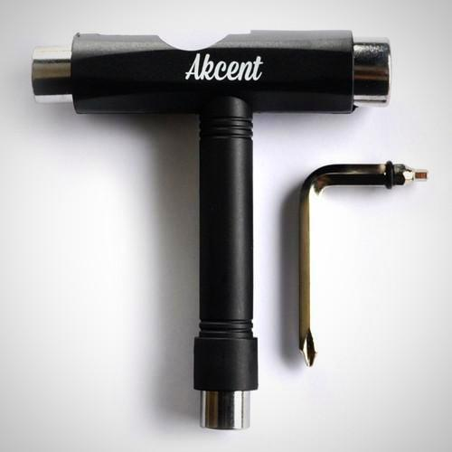 Akcent Skate T Tool for putting together skateboard decks and hardware