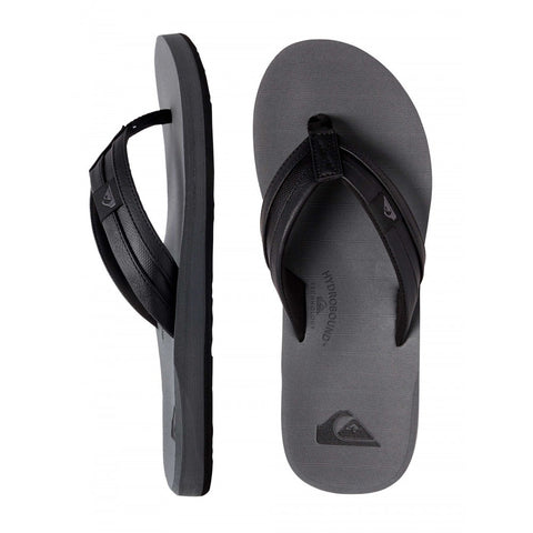 Quiksilver Carver Squish Jandals - Black/Grey