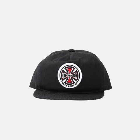 Independent TC Twill Snapback - Black
