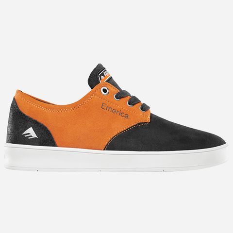 Emerica The Romero Laced x Bronson - Black/Orange