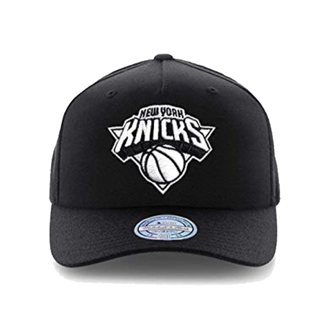 Mitchell & Ness New York Knicks 110 Snapback - Black/White