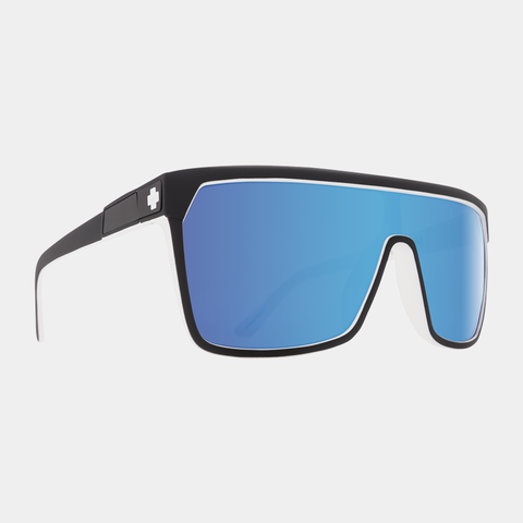 Spy Sunglasses Flynn - Whitewall Happy Gray Green w/Light Blue Spectra