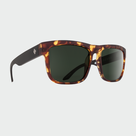 Spy Sunglasses Discord - Vintage Tort Happy Grey Green