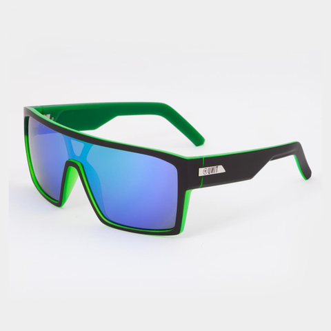 Unit Command Sunglasses - Black/Green