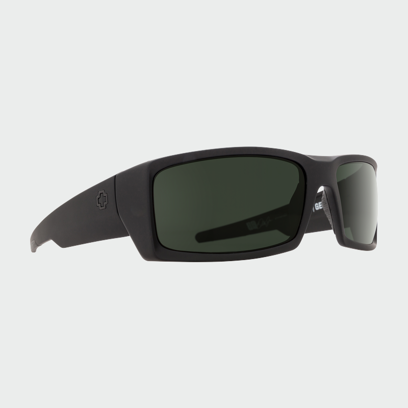 Spy Sunglasses General - Black Grey Green Polarized