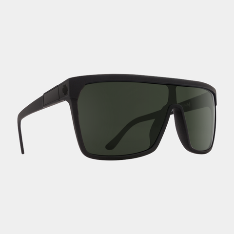 Spy Sunglasses Flynn - Soft Matte Black Happy Gray Green