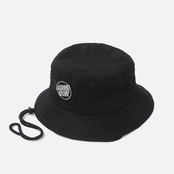 Santa Cruz Aptos 2 Bucket Hat - Black