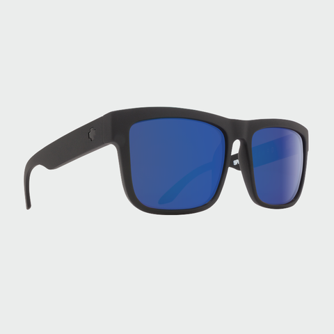Spy Sunglasses Discord - Matte Black Happy Bronze Polarized w/Blue Spectra