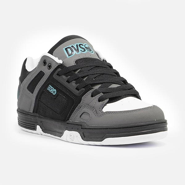 DVS Shoes Comanche - Black/Charcoal Turquoise