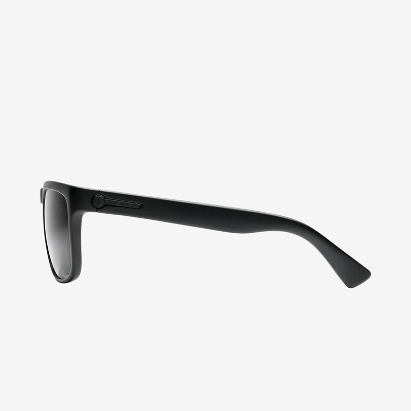 Electric Knoxville Matte Black Grey Polarized
