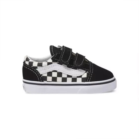 Vans Old Skool V Primary Check - Black
