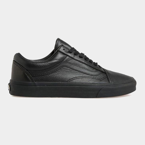 Vans Old Skool - Black Leather