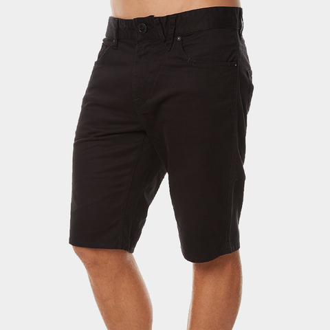 Volcom Solver Lite 5 Pocket Shorts - Black
