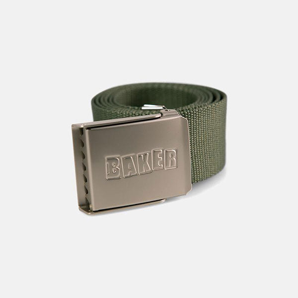 Baker Belt Brand Logo - Forest Green