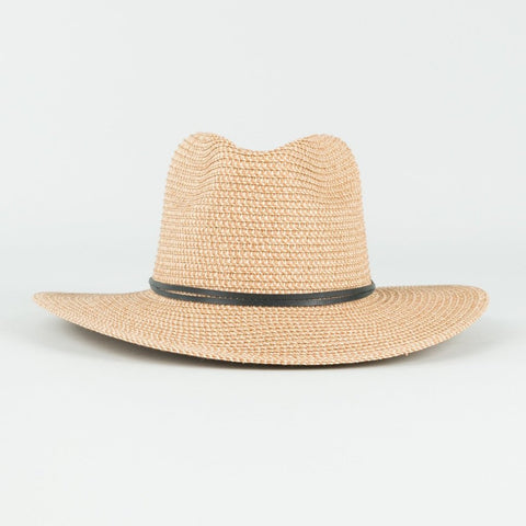 Rusty Gisele Straw Hat