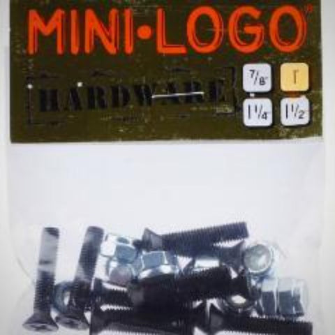 Mini Logo Hardware 1''