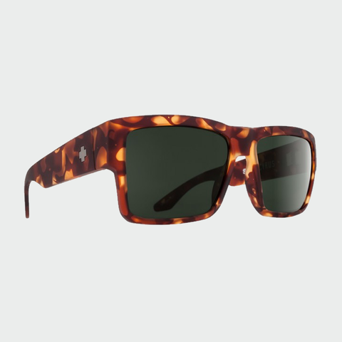Spy Sunglasses Cyrus - Soft Matte Camo Tort Happy Grey Green