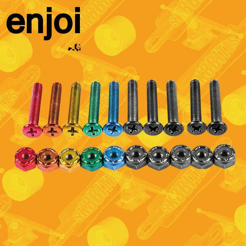Enjoi Colourful Little Buddies Hardware - 1""