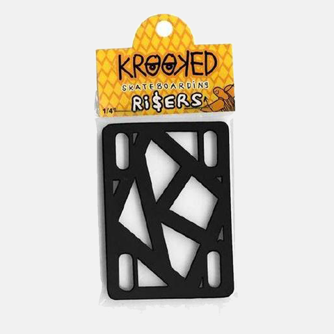 Krooked Riser Pads 1/4""