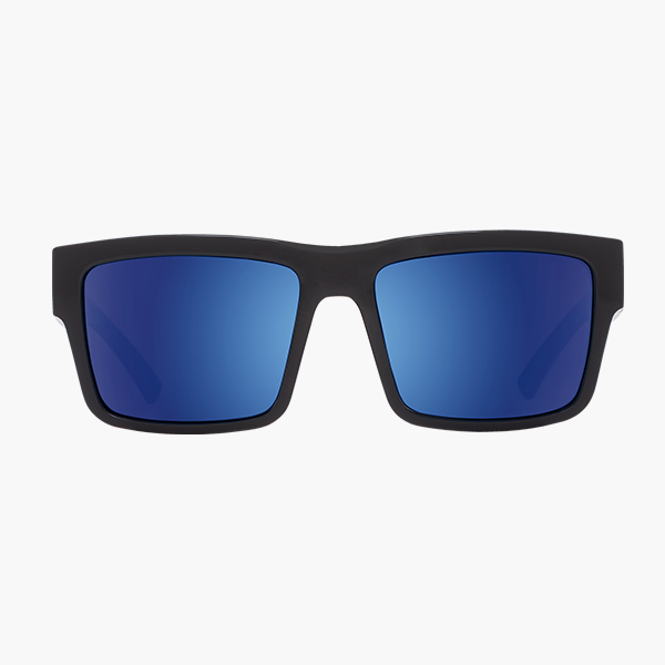 Spy Sunglasses Montana - Black Dark Blue Spectra Polar