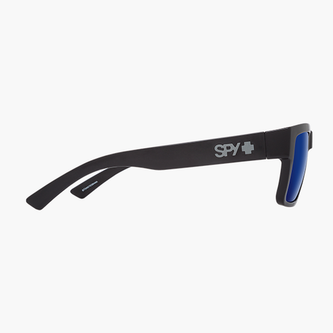 Spy Sunglasses Montana - Shiny Black Dark Blue Spectra Polarized