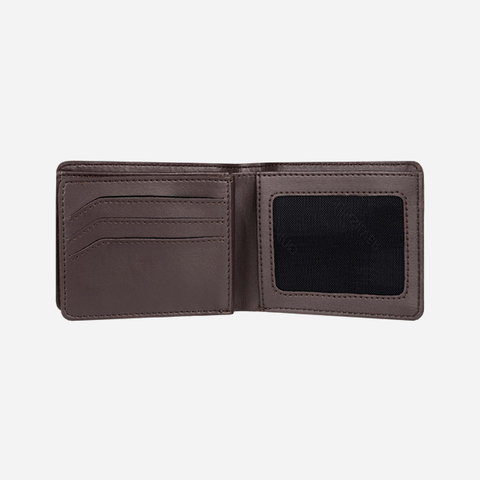 Quiksilver Mack IX Wallet - Chocolate Brown