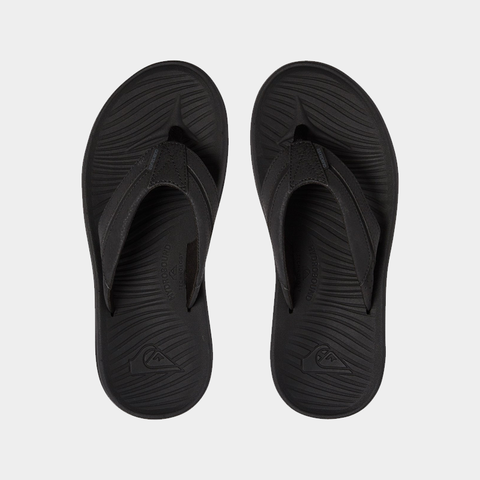 Quiksilver Travel Oasis Jandals - Black/Brown