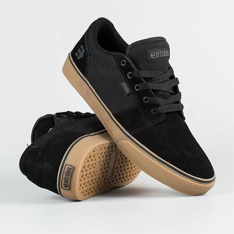 Etnies Barge LS - Black/Gum/Grey