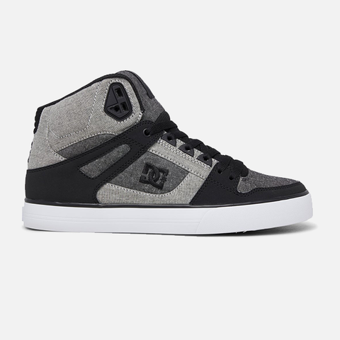 DC Pure High-Top WC - Black/Heather Grey