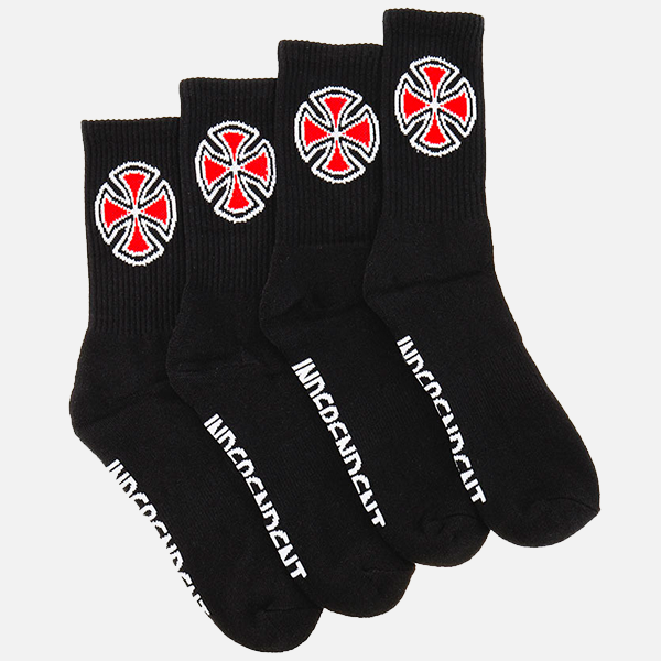 Independant OG Cross Socks 4 pk