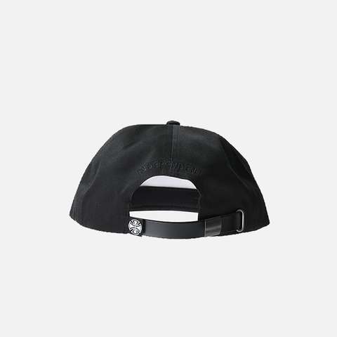 Independent TC Twill Strapback Cap - Black