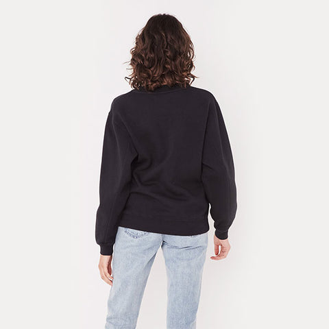 Assembly Label Logo Fleece - Black