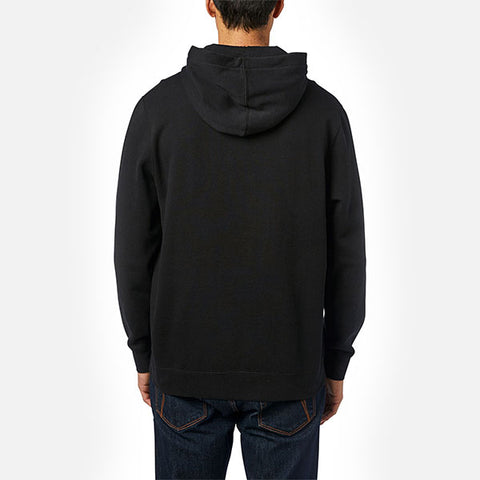 Fox Overhaul Pullover Fleece Hood - Black/Green