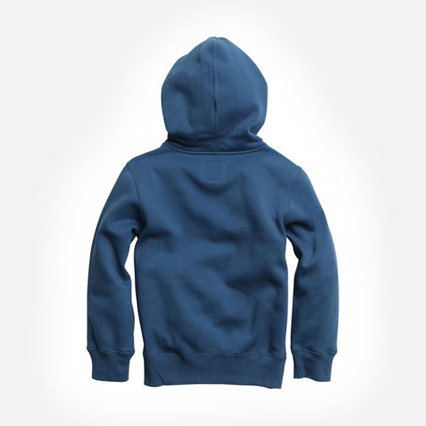 Fox Youth Legacy Pullover Fleece Hood - Dusty Blue