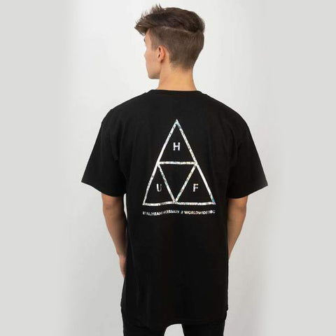 Huf Hologram Tee - Black